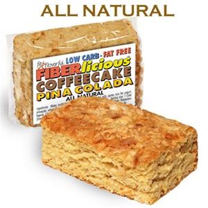 Simply Scrumptous Low Carb Fat Free Pina Colada Coffee Cake