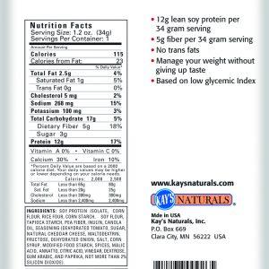Kays Naturals Protein Puffs Veggie Pizza