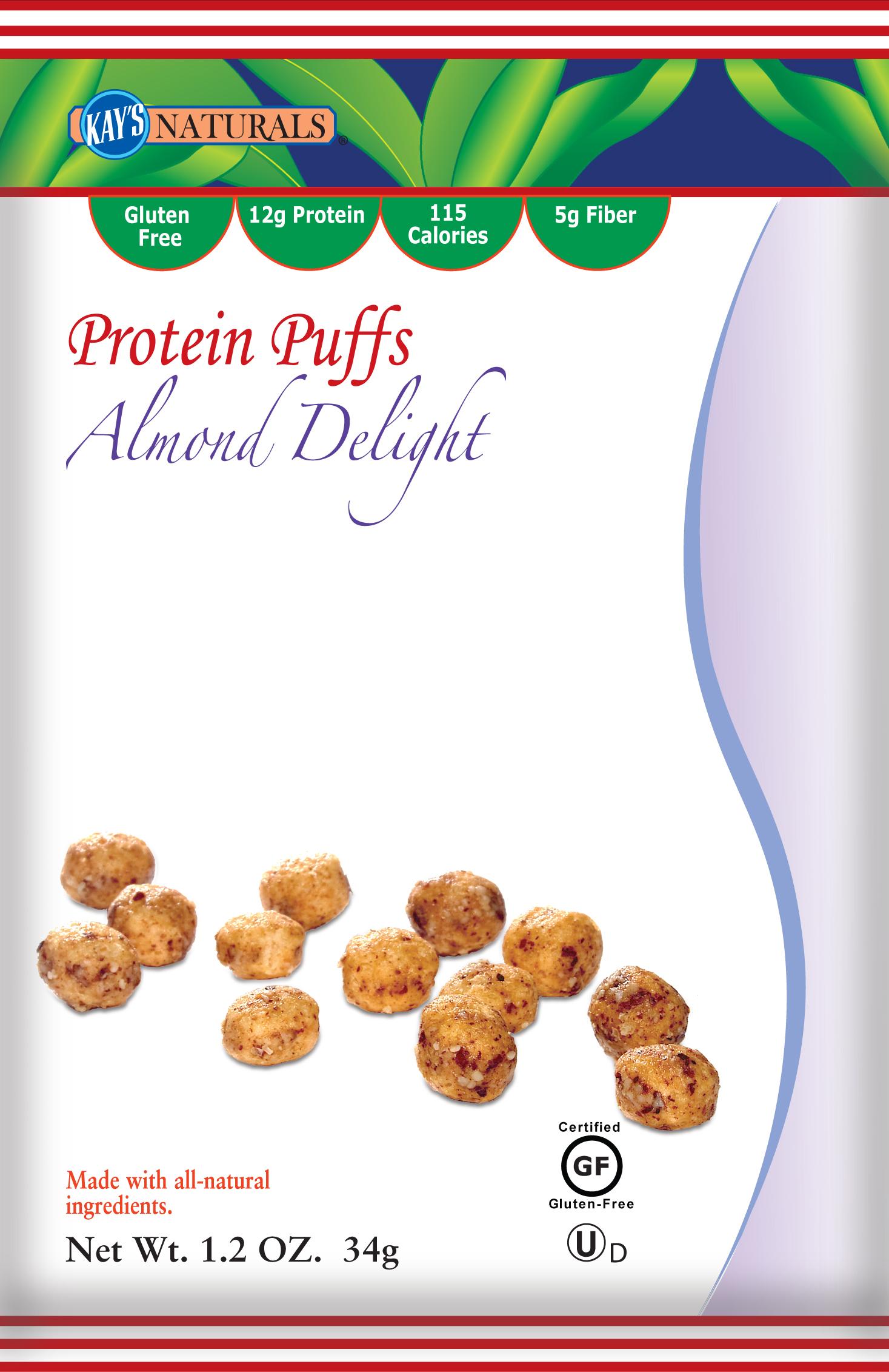 Kays Naturals Protein Puffs Almond Delight