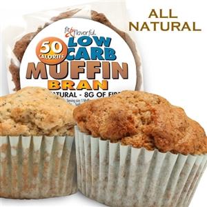 Simply Scrumptous Low Carb & Fat Free Bran Muffin Single