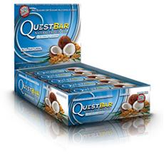 Quest Bar All Natural Line Low Carb Coconut Cashew Bar
