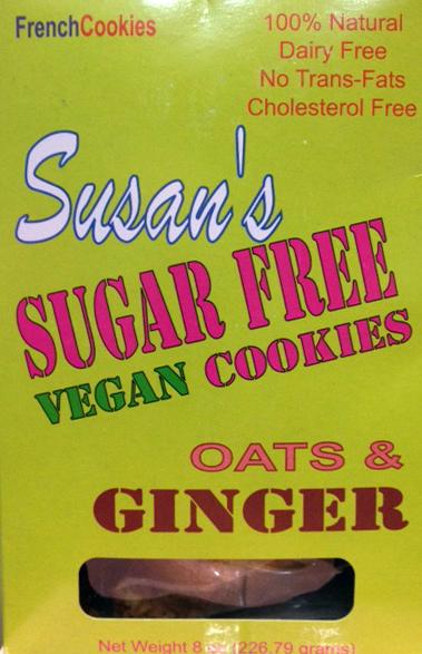 Susan's Sugar Free Lemon Vanilla Cookies