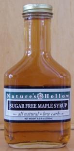 Natures Hollow Sugar Free Maple Pancake Syrup