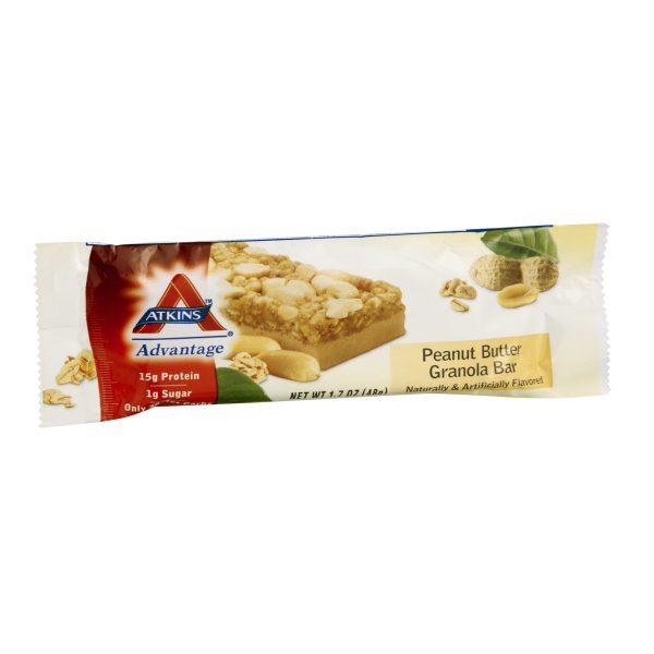 Atkins Advantage Peanut Butter Granola Bar Box of 5