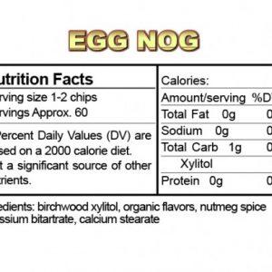 Ice Chips Sugar Free Egg Nog Xylitol Chips