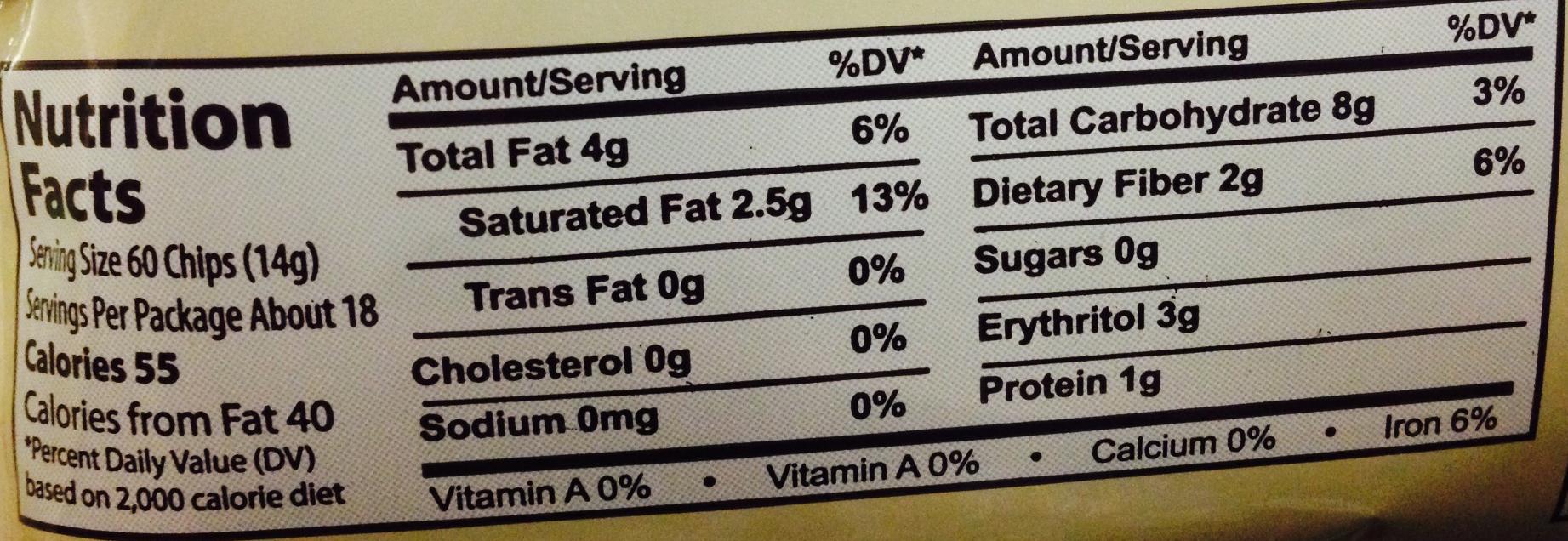 Lily's No Sugar Added Dark Chocolate Chips 9oz Bag – Lo Carb U