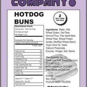 Great Low Carb Hot Dog Buns