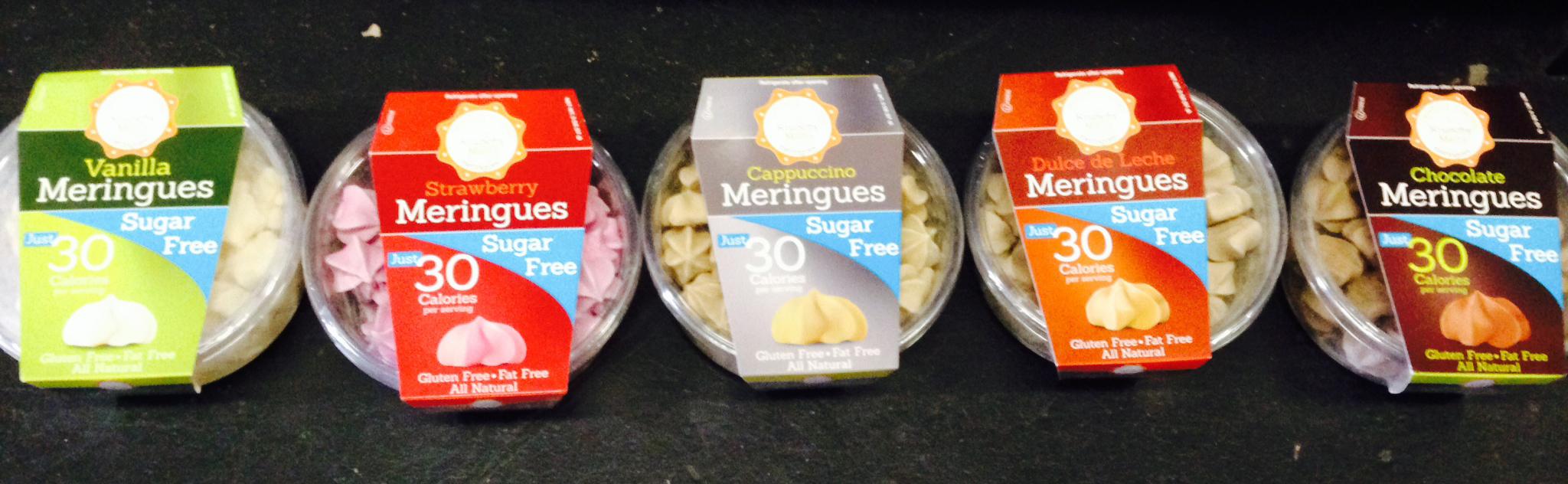 Krunchy Melts Sugar Free Meringues Dulce De Leche 2 oz.