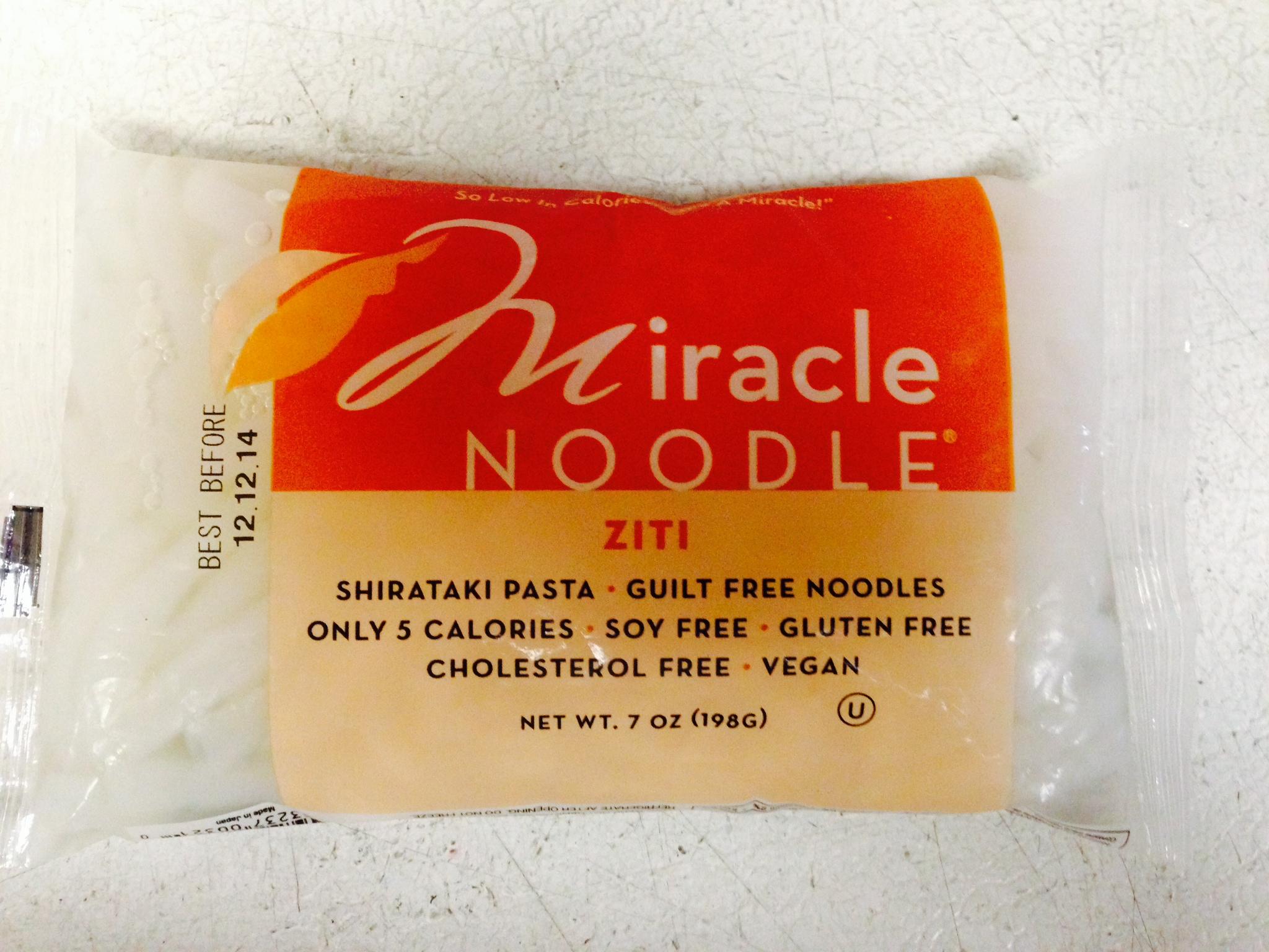 Miracle Noodle Ziti Shape Noodle 7oz
