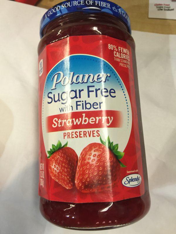 Polaner Sugar Free Strawberry Preserves 13.5oz