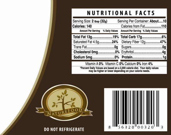 Nutilight Low Carb Dark Hazelnut Spread 11oz jar