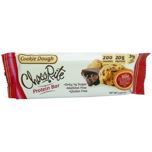 Chocorite Low Carb 2.26oz cookie dough bar