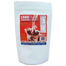 Carbthin Zero Carb Chocolate Whey Protein Shake Mix 1lb