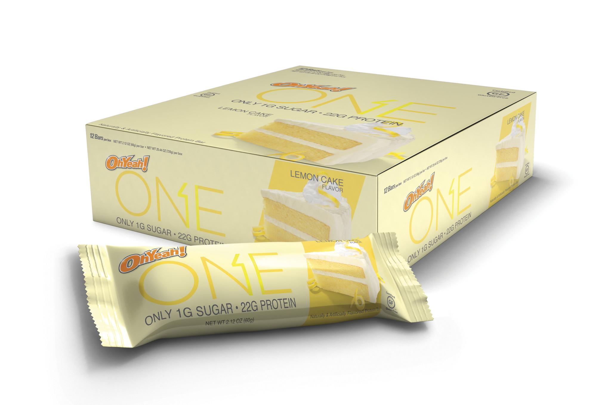 Oh Yeah! Lemon Cake Bar