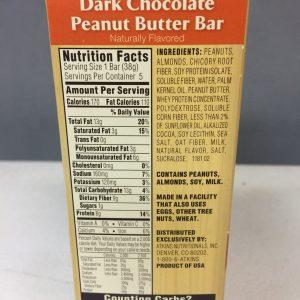 atkins harvest Dark Chocolate Peanut Butter Bar 5 pack