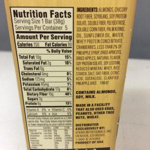 Atkins Harvest Vanilla Fruit and Nut Bar 5 pack