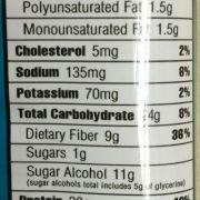 ohyeahcinnamonrollnutrtition