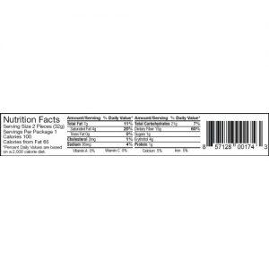 chocorite-dark-chocolate-pecan-cluster-nutrition-facts
