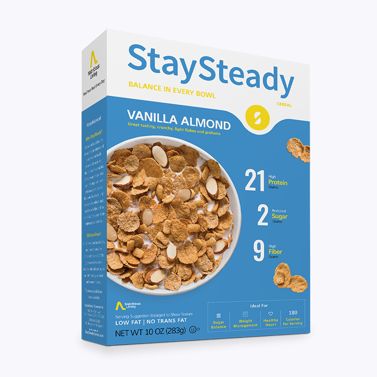 Stay Steady Low Carb Vanilla Almond Cereal