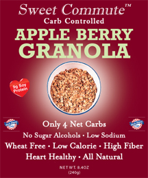 Dixie Diners Low Carb Apple Berry Granola