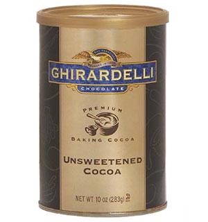Ghirardelli Unsweetened Premium Baking Cocoa