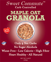 Dixie Diners Low Carb Maple Oat Granola 8.4 oz Bag