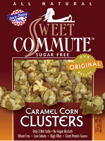 Dixie Diners Sweet Commute Caramel Corn Clusters