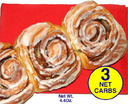 Dixie Diners Low Carb Cinnamon Bun Mix