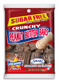 Atkinson's Sugar free Bite Sized Peanut Butter Bars Bag of 15
