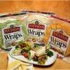 Toufayan Large Low Carb Wraps 9""