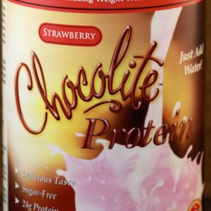 Chocorite Protein Strawberry Shake Mix 1lb