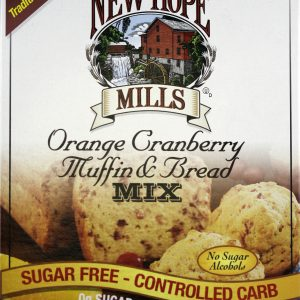New Hope Mills Low Carb Orange Cranberry Muffin and Bread Mix