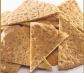 Sami's Bakery Low Carb Plain Millet and Flax Pita Chips
