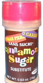 Sans Sucre Cinnamon Splenda Shaker Bottle