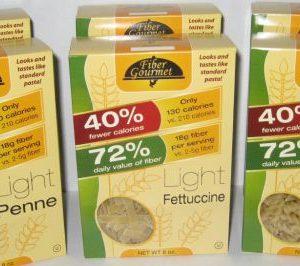 Fiber Gourmet Light Penne Pasta 8oz Box