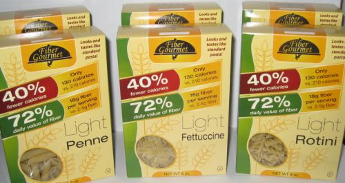 Fiber Gourmet Light Rotini Pasta 8oz box