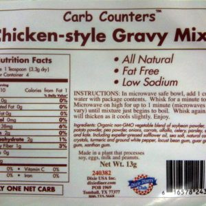 Dixie Diners Low Carb Chicken Style Gravy Mix