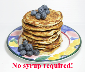 Dixie Diners Low Carb Blueberry Cream Pancake Mix