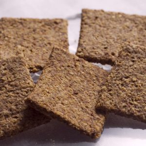 Skinny Crisps gluten free Low Carb Plain Jane Crackers