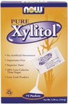 Now Foods Xylitol Sweetener 75 packet box