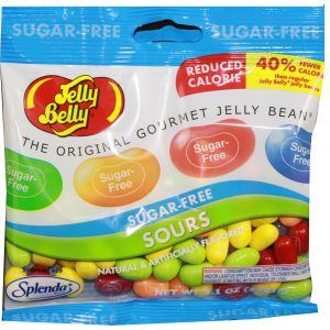 Jelly Belly Sugar Free Sour Jelly Beans 3.1 oz bag