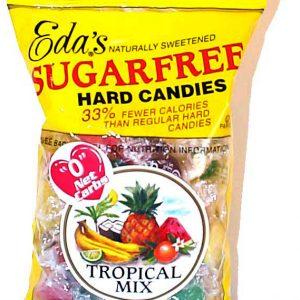 Eda's Sugar Free Hard Candy Mixed Fruit 6oz bag