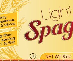 Fiber Gourmet high fiber low calorie Spaghetti