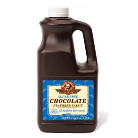 Davinci Sugar Free Chocolate Sauce 1/2 gallon