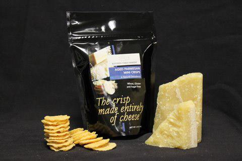 Parm Crisps/Kitchen Table Bakers Aged Parmesan Mini Crisps