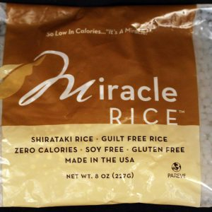 Miracle Noodle Miracle Rice 7oz Single Bag
