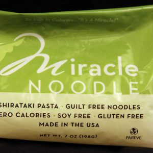 Miracle Noodle Angel Hair Shirataki Noodles 7oz single bag