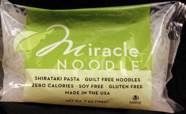 Miracle Noodle Angel Hair Shirataki Noodles 7oz single bag