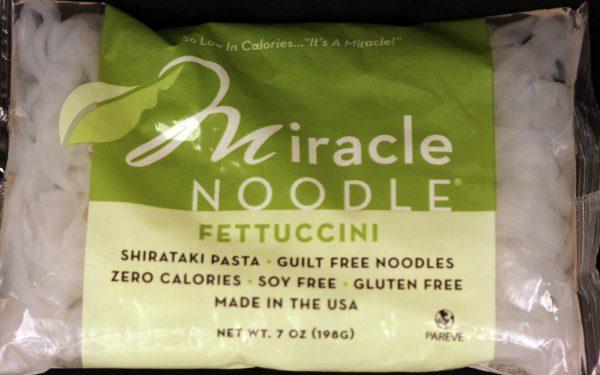 Miracle Noodle Fettuccine Shirataki Noodles 7oz single bag