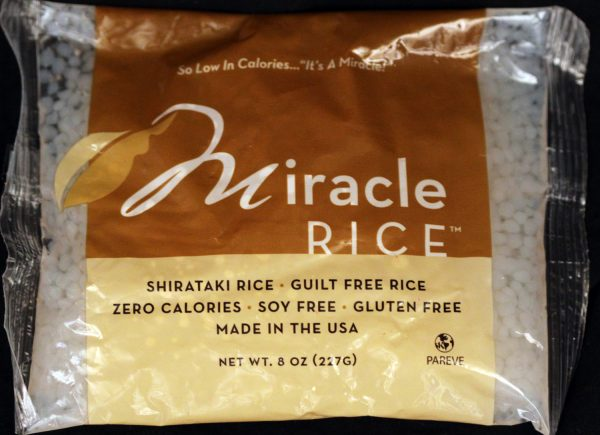 Miracle Noodle Miracle Rice 7oz -10 pack (shipping cost included)